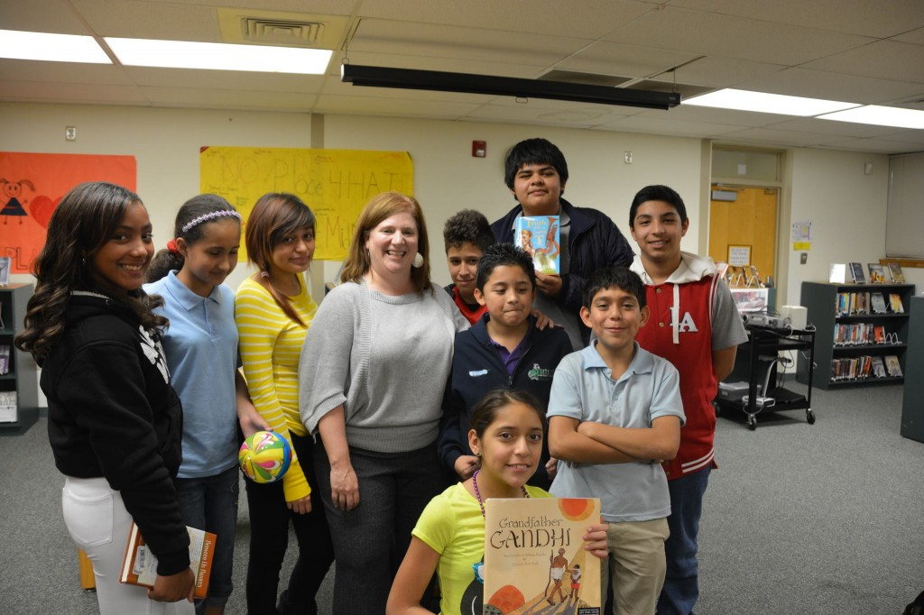 School Visit with Author Bethany Hegedus